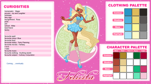 Felicita - ID and Palettes by EnchantingRainbow