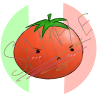 Tsundere tomato by AcidicFishes