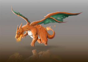 Charizard by djambronx