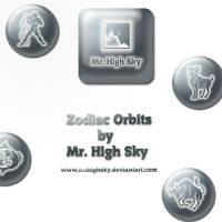 Zodiac Orbits Pngs by MrHighsky