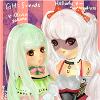 GM: Mellody and Olivia by Xalsoria