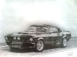 Muscle Car by BojanTanasic