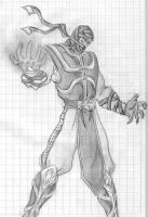 ermac drawing by Matty110011