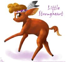 Little Strongheart by ponieseverywhere