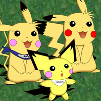 Me and some pikas by pichu90