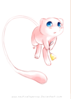 Mew Sketch by NauticalSparrow