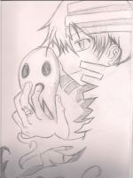 Soul eater- Death the kid by RenStylez