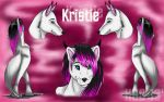 Ref sheet for Kriste by HotrodsImpulse