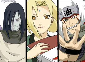 Legendary Sannin by maelstromb