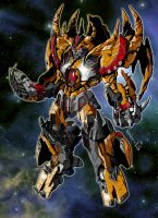 Unicron poster TF Cybertronians by shatteredglasscomic
