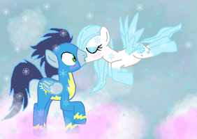 Soarin Through Snow by Spartkle