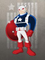 Captain America Redesign by payno0