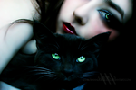 Black Cat by bambolamalricucita