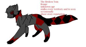 The Broken Tom LONER REF for fateclans by bachurie