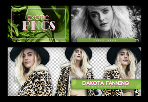 Pack Png 757 // Dakota Fanning by ExoticPngs