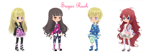 Sugar Rush- Dream Selfy Adoptables (CLOSED) by Brookkit67