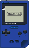 Game Boy Pocket [Blue] by BLUEamnesiac