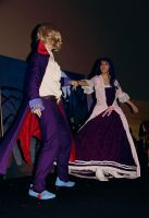 Sophia and Anthony - Dance in the Mansion by AriB-Rabbit