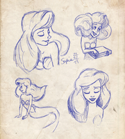 Tribute to Glen Keane by sawfee