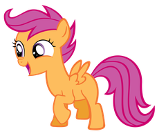 Scootaloo MLP by Rayne-Feather
