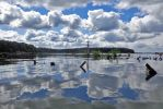 Clouds Over Mallows Bay by Phibee55