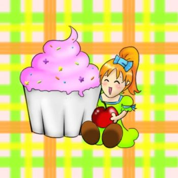 I love cupcakes by Alelwing