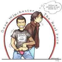 the REAL Dean Winchester by griffouine