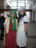 Rena and Mion Cosplay by confuzed-anime-fan