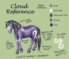 Cloud Reference by harlequin-wondercat