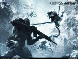 Crysis IceBattle Wallpaper by DoooM