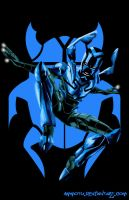 Blue Beetle iii by Ammotu