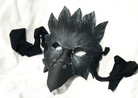 EVA Foam LARP Masks: Crow by SerenFey