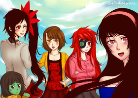 Tower of God Girls by thelittlestprince