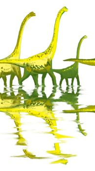 Brachiosaur herd by subtle-design