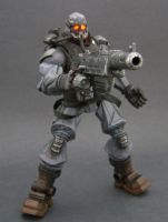 Helghast Soldier Custom Figure by Jin-Saotome