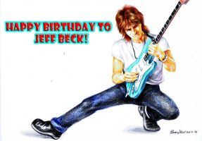 My Jeff Beck gift age 67 by beckpage