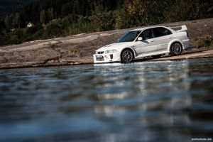 Lancer EVO V by chocholik
