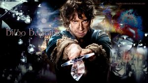 Bilbo Baggins wallpaper 02 by HappinessIsMusic