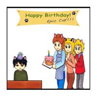CF_Happy Birthday Epic Cat by Rain7777