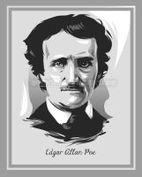edgar allan poe by gilbert86II
