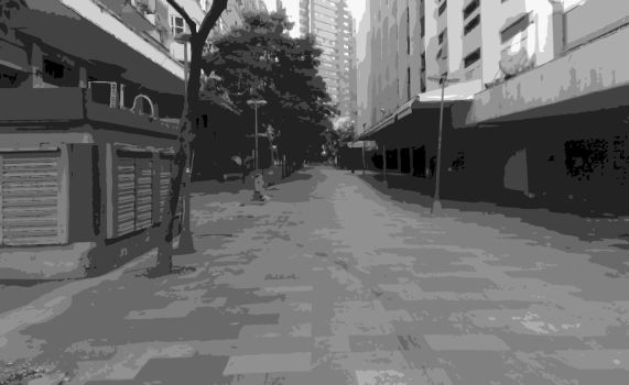 The Grey Street by TheDrifterWithin
