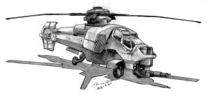 "ADA ""Claymore"" VTOL-6 by Pyrosity"