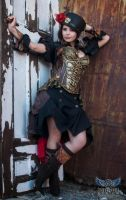 Steampunk Masha 01 by TempusFugitDesign