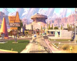 Radiator Springs by MagicalCrystal