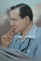 1st.The King of Thailand by portrait111