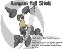 Weapon: Nail Shield by MegaPhilX