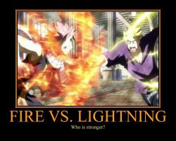 Fire vs. Lightning by Zeldabloom101