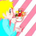 Tea Time for Butters by sam-the-vampire