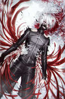 TG: Kaneki by avodkabottle