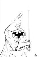 Batman: Dark 'Jedi?' Knight by marklevidude